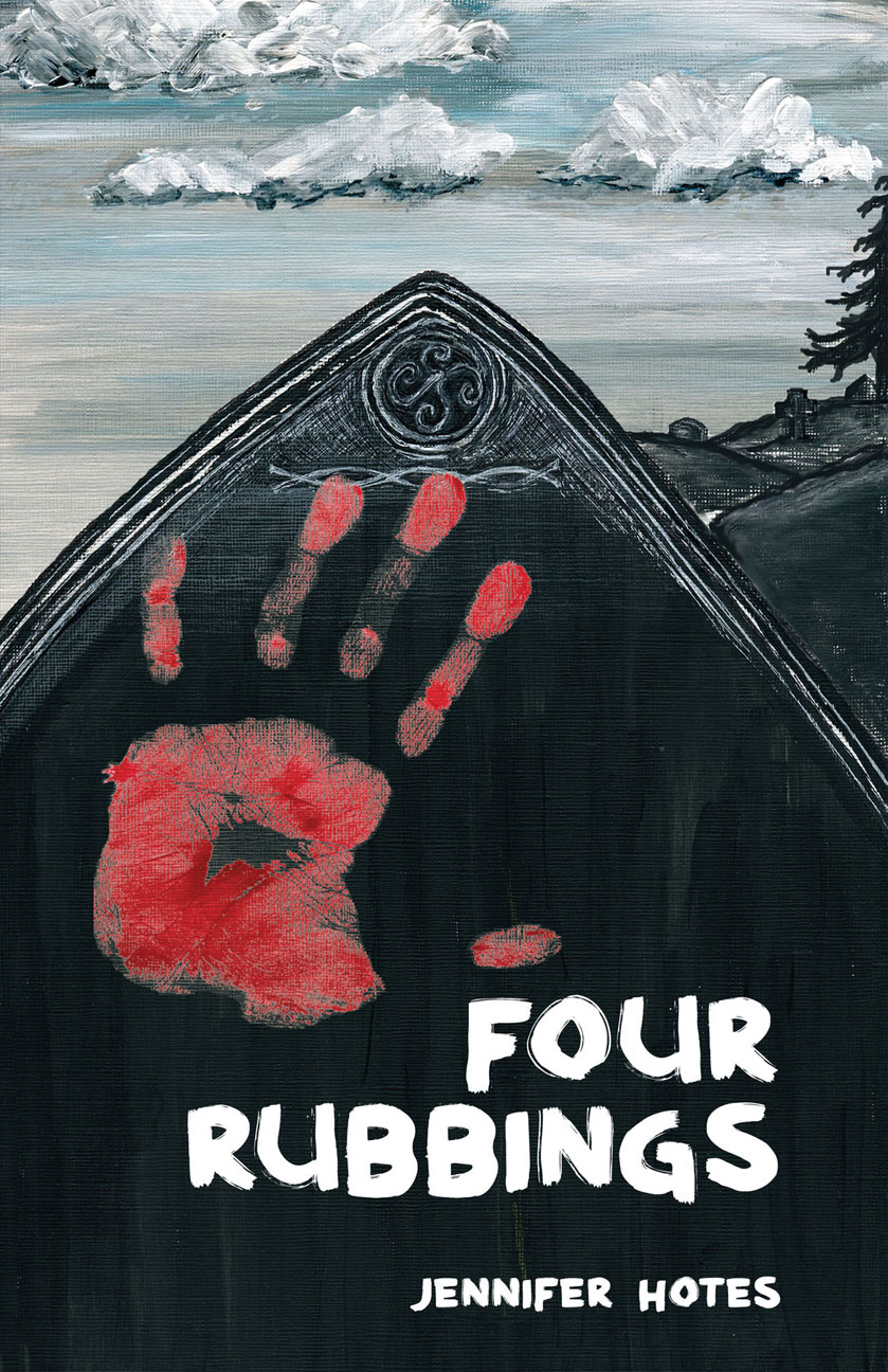 Four Rubbings by Jennifer Hotes